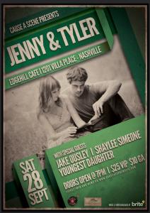 CAS September 28 - Jenny & Tyler