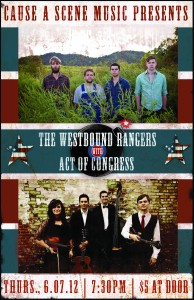 CAS June 7 - The Westbound Rangers