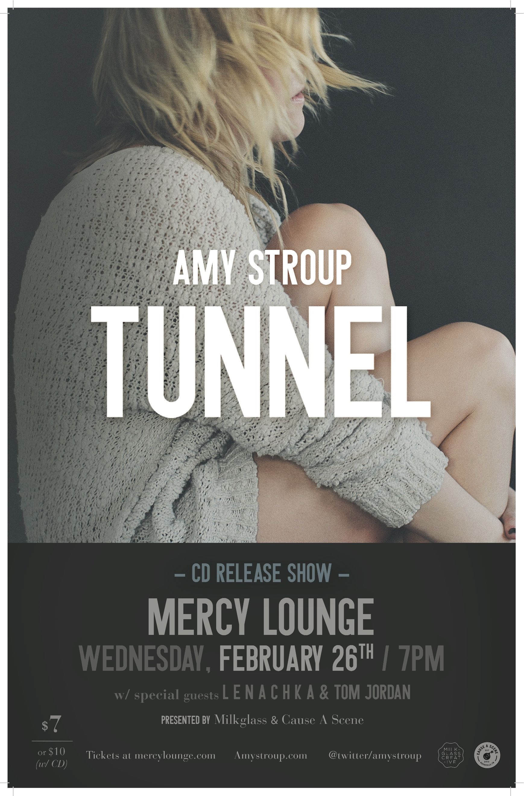Amy Stroup CD Release Poster