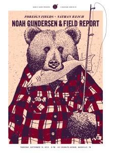 Noah Gundersen 09-19 Poster