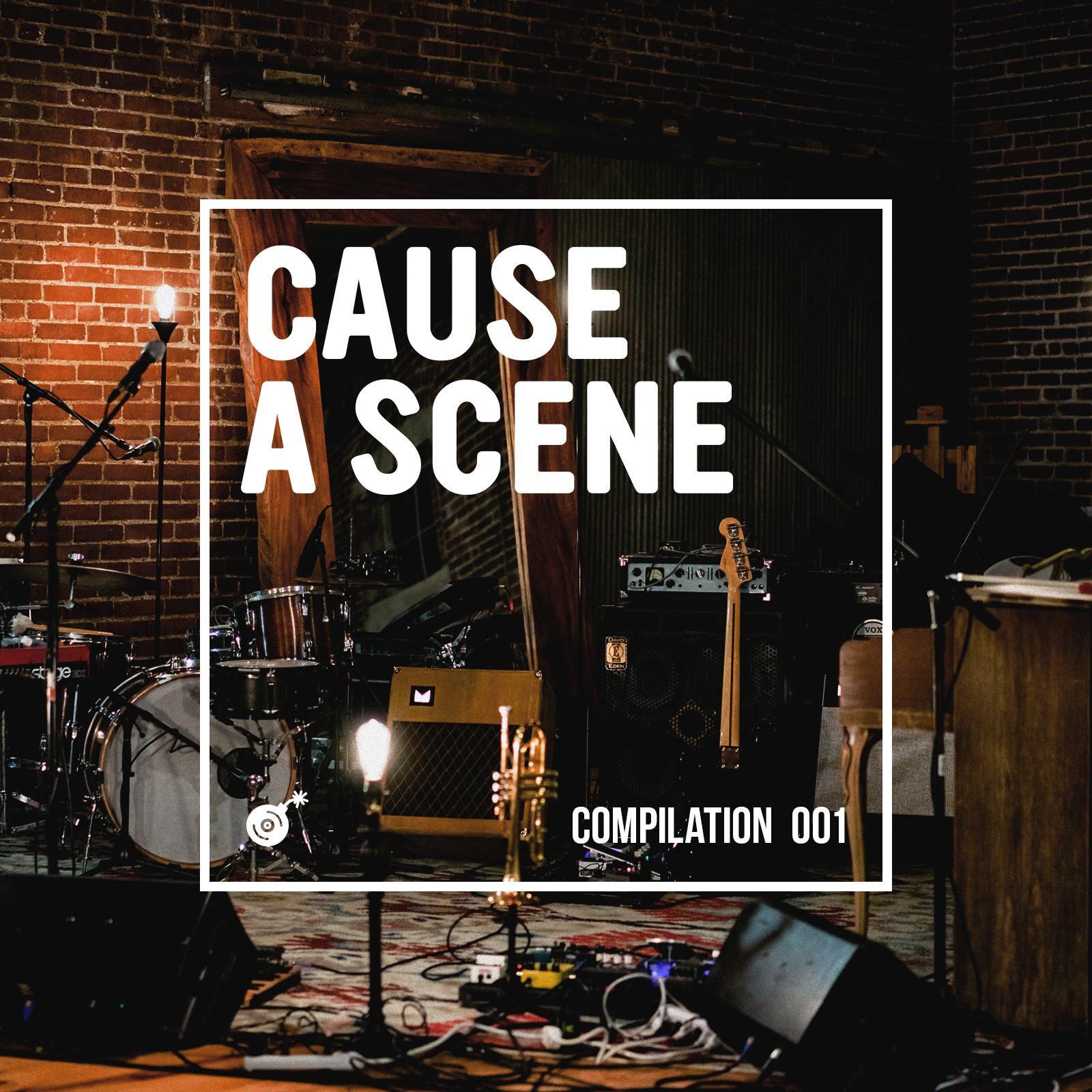 Cause A Scene Compilation - Album Artwork