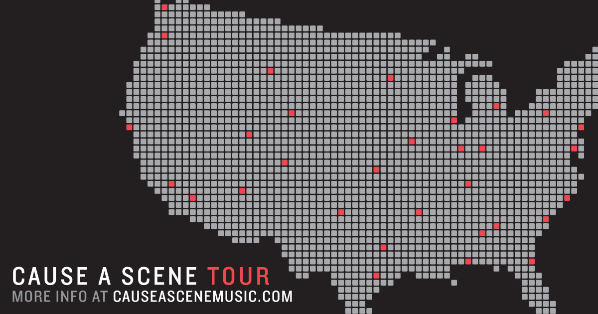 Cause A Scene Tour Facebook